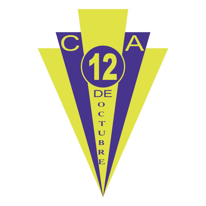 Club Atletico 12 de Octubre vector