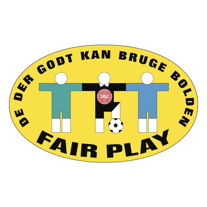 DBU Fair Play vector