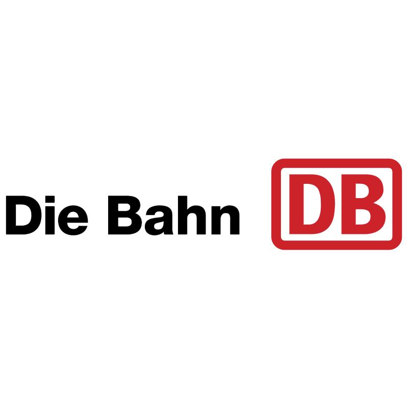 Die Bahn vector logo