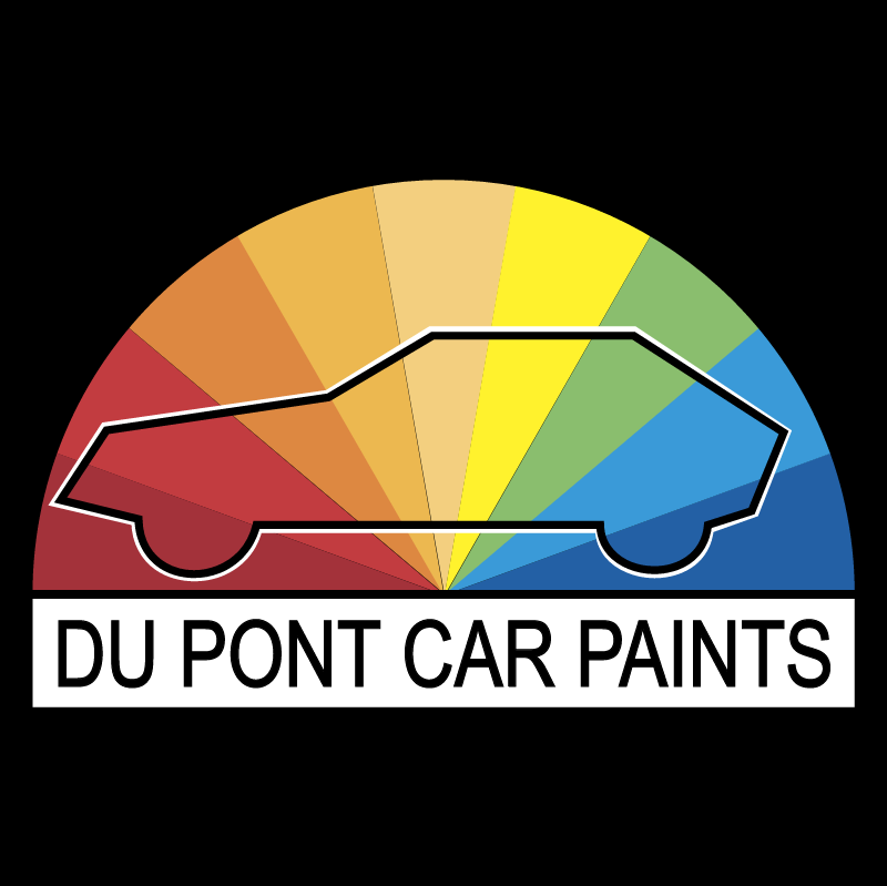 Du Pont Car Paints vector