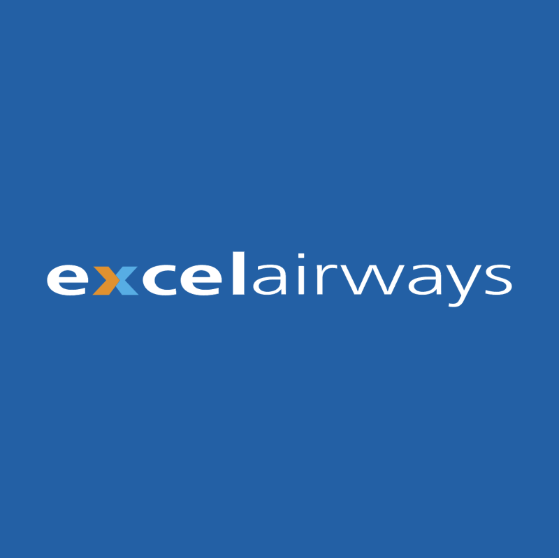 EXCEL AIRWAYS vector