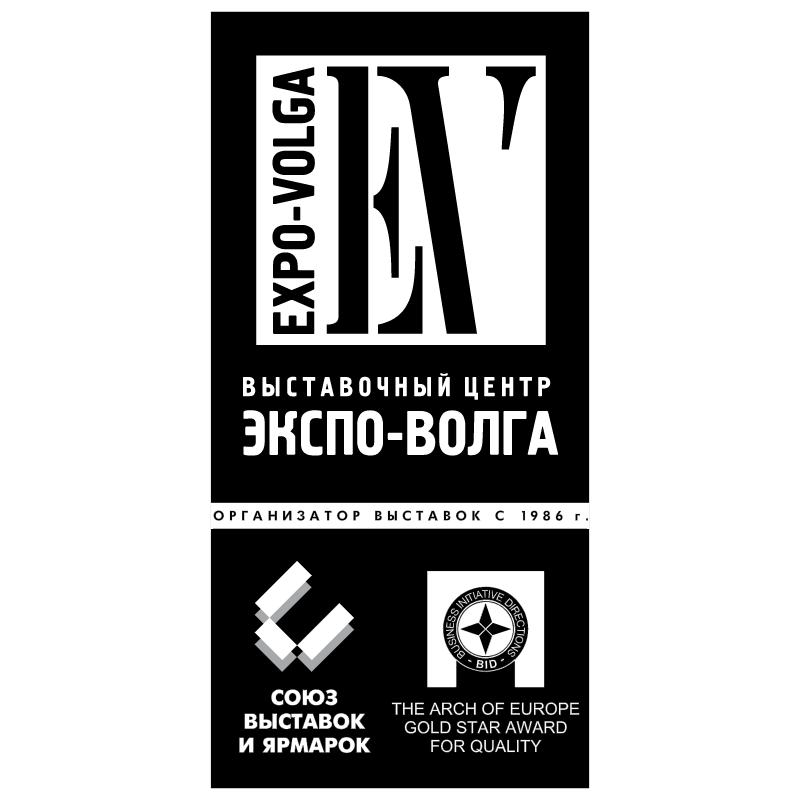 Expo Volga vector logo