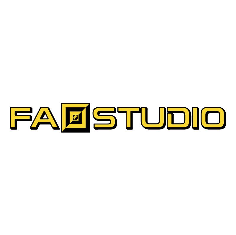 Fa studio vector