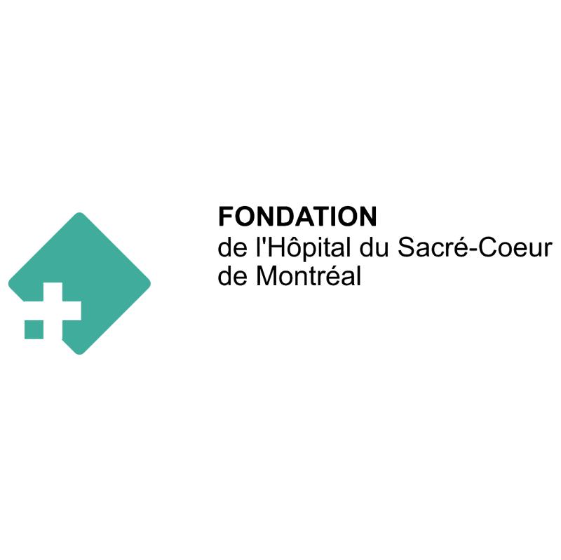 Fondation de lHopital Sacre Coeur de Montreal vector