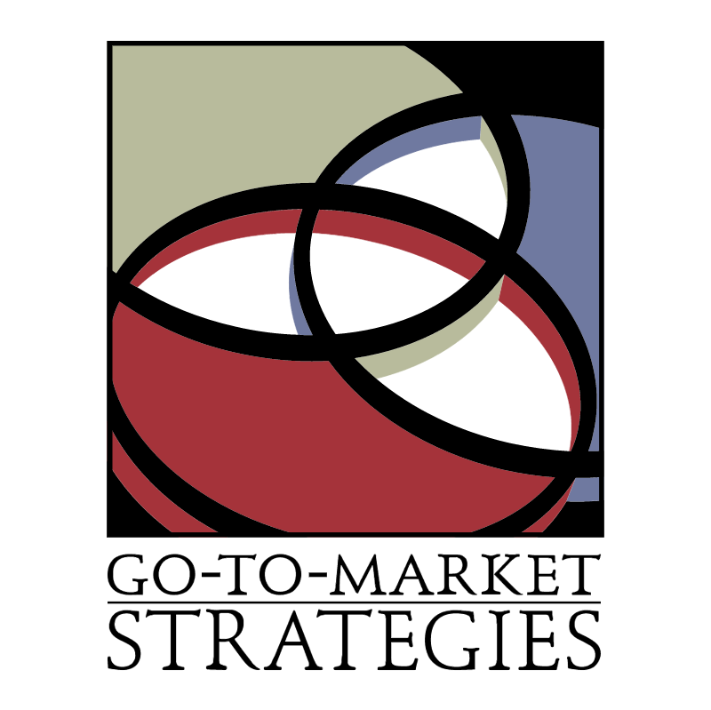 Go To Market Strategies vector
