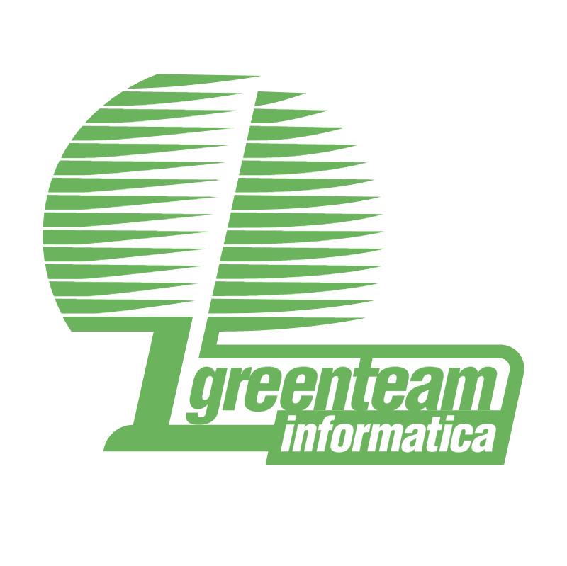 Greenteam Informatica vector