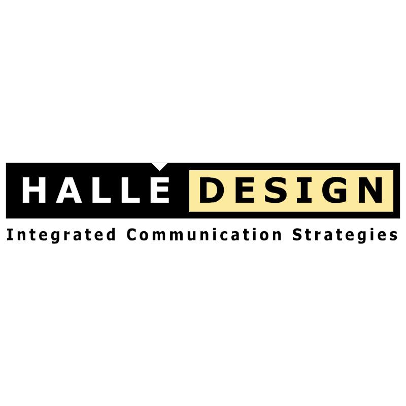 Halle Design vector