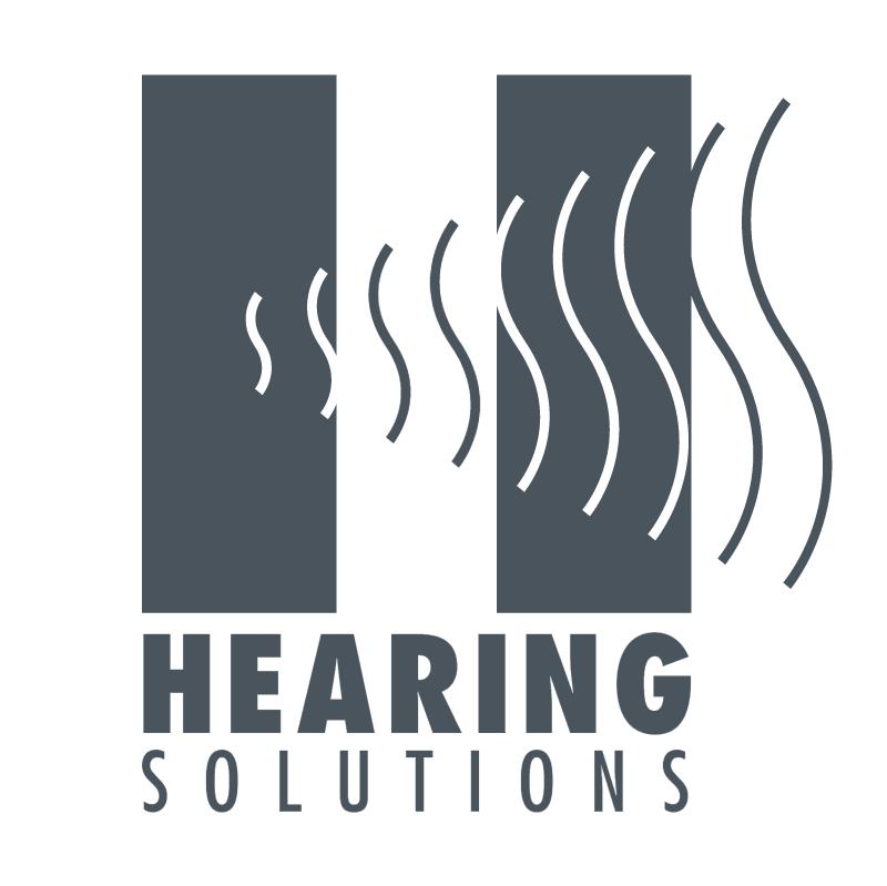 Hearing Solutions vector logo