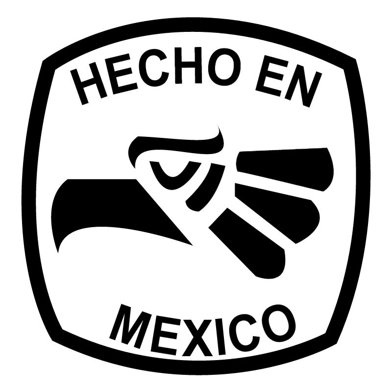 Hecho en Mexico vector