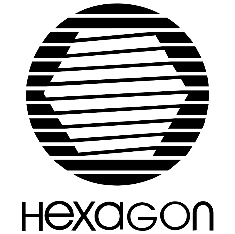 Hexagon vector