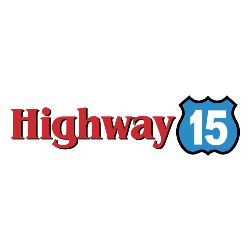 Highway 15 vector logo