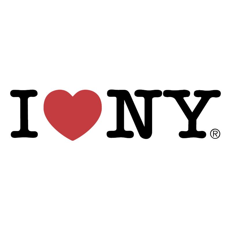 I Love New York vector logo