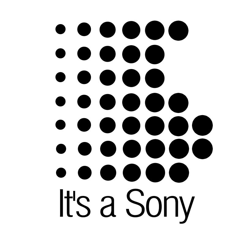 It's a Sony vector
