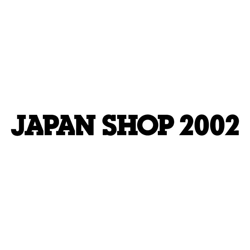 Japan Shop 2002 vector