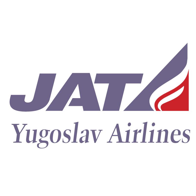 JAT Yugoslav Airlines vector