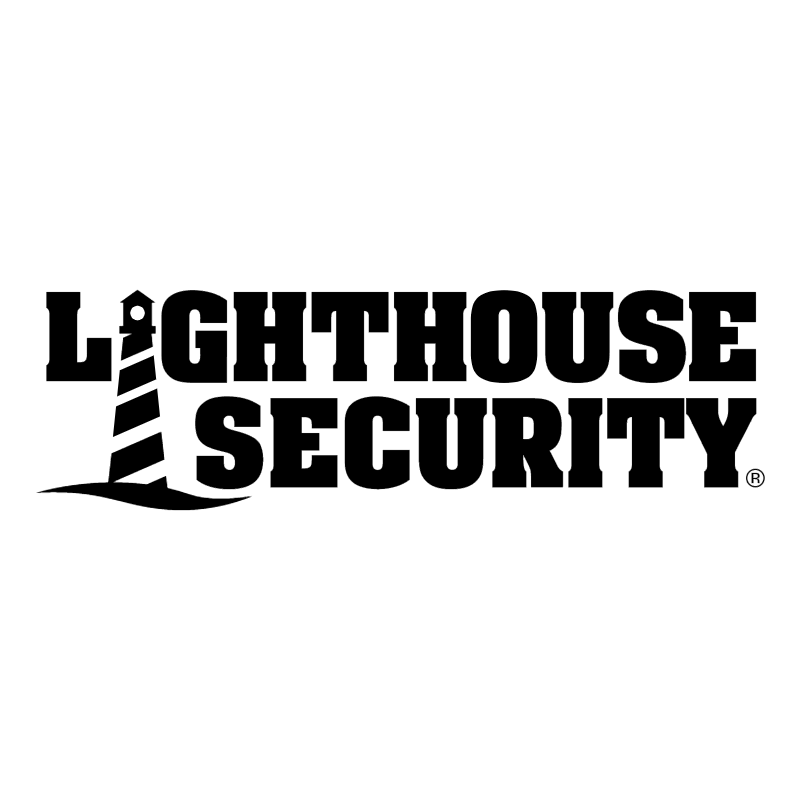 Lighthouse Security vector