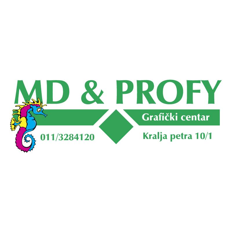 MD&Profy Graficki Centar vector