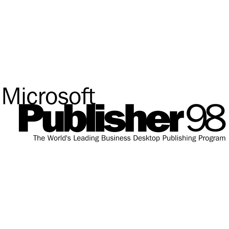 Microsoft Publisher 98 vector logo