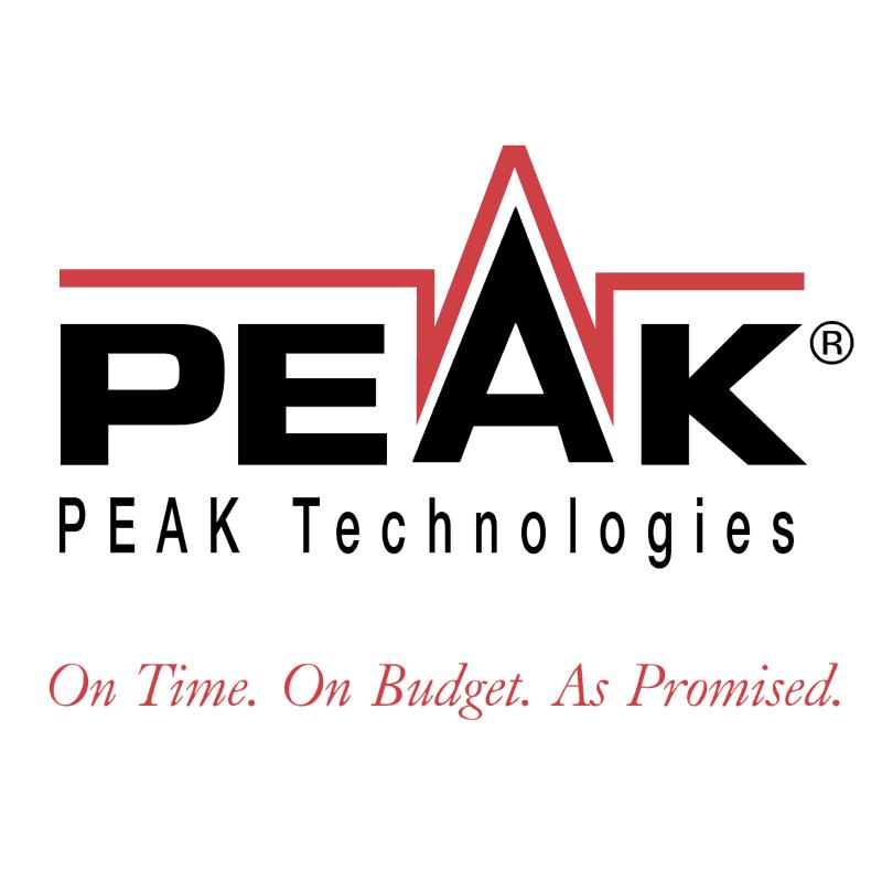 PEAK Technologies vector