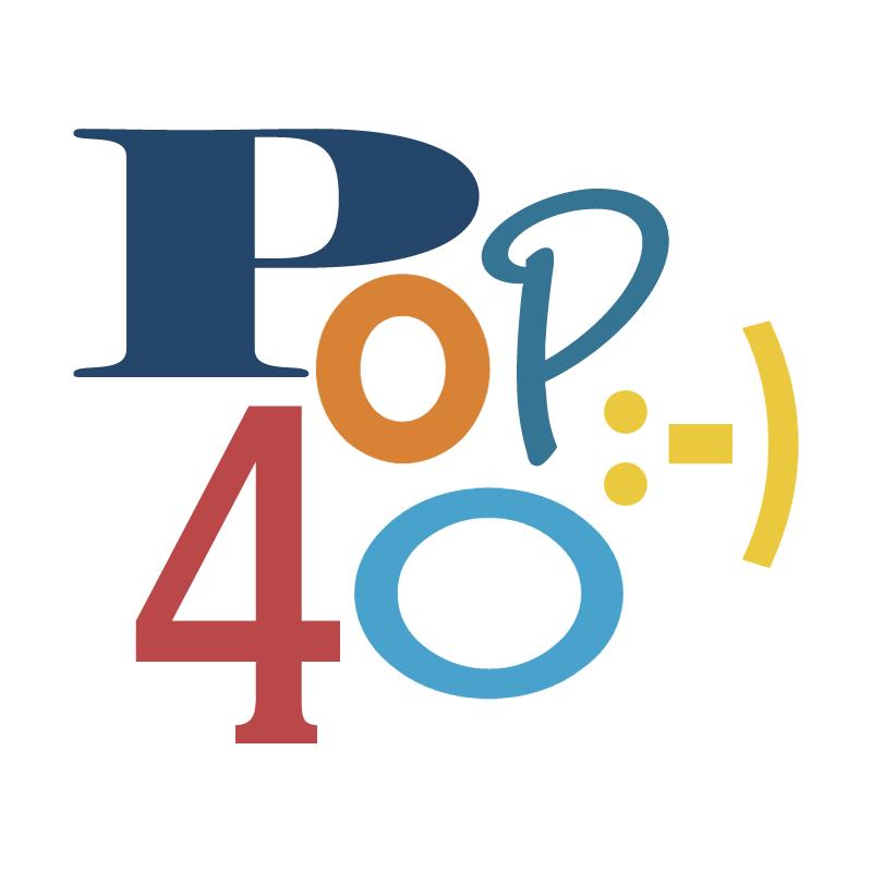 Pop 40 ) vector