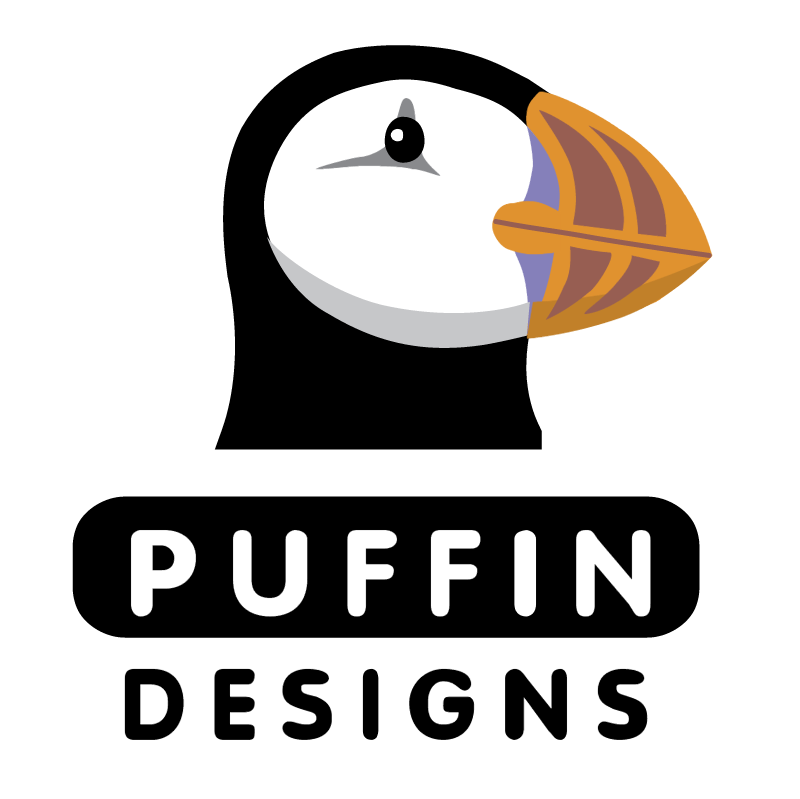 Puffin Designs vector