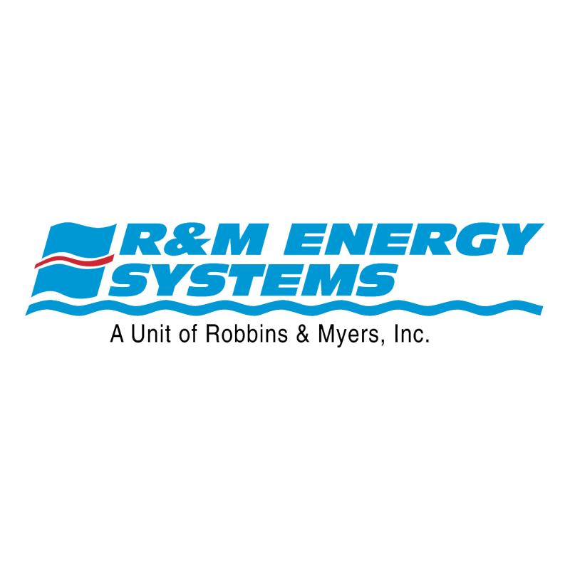 R&M Energy Systems vector logo