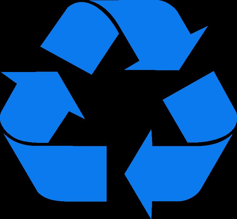Recycling vector logo