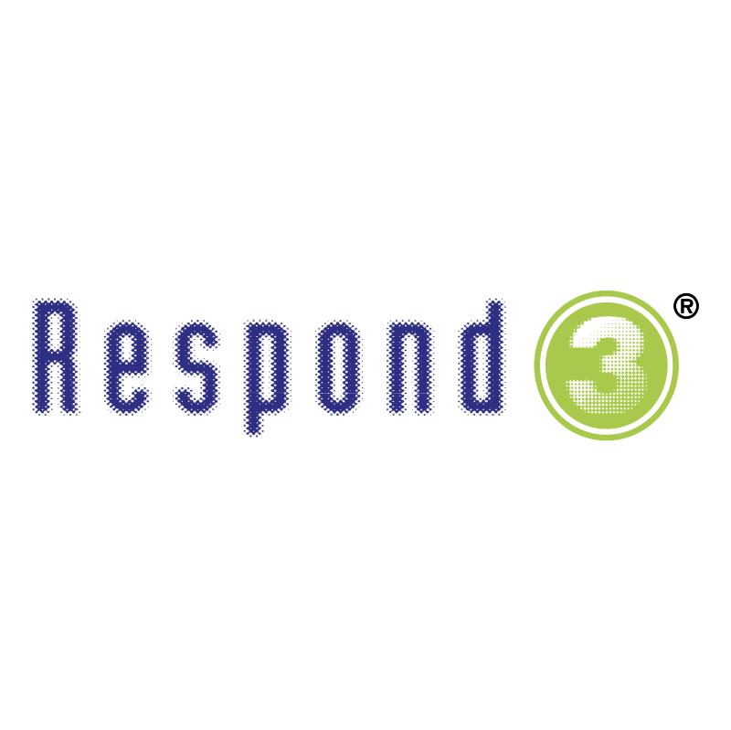 Respond 3 vector logo