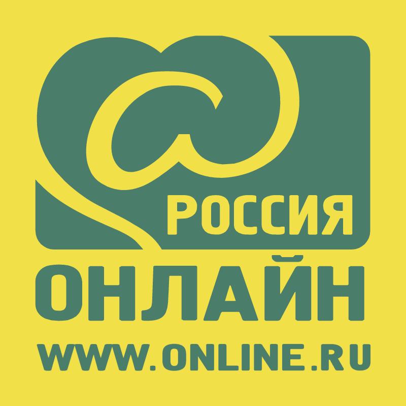Russian Online vector logo