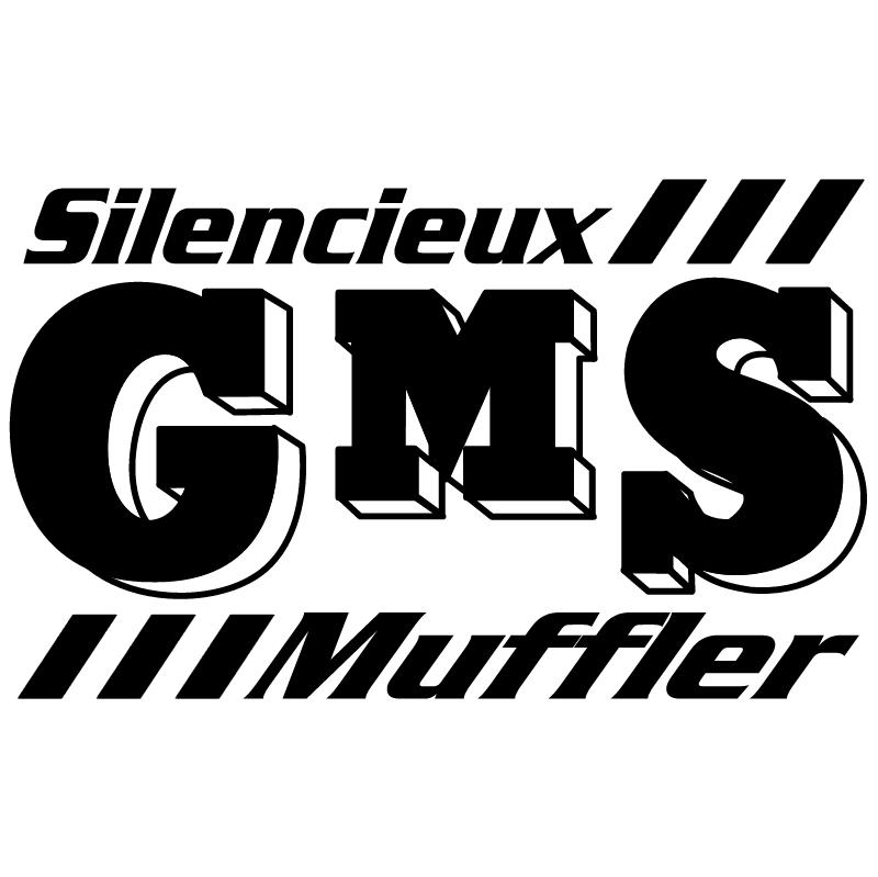 Silencieux GMS Muffler vector