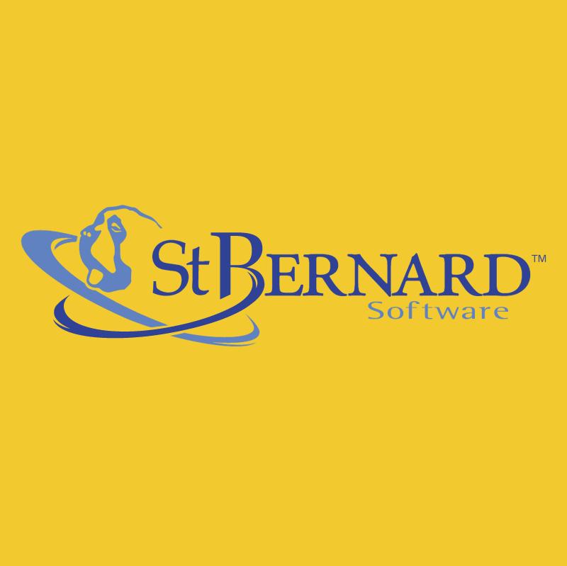 St Bernard Software vector
