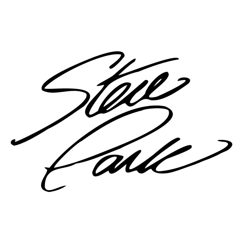 Steve Park Signature vector