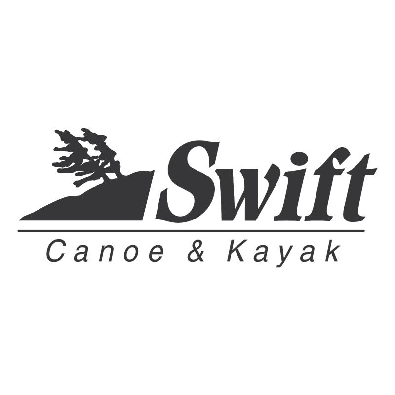 Swift Canoe & Kayak vector logo