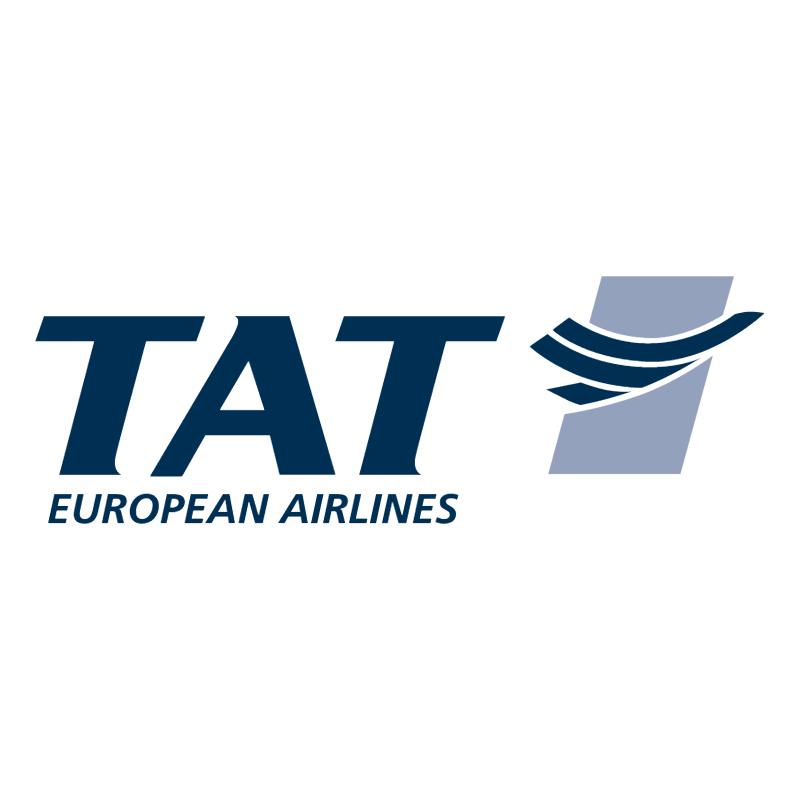 TAT European Airlines vector logo
