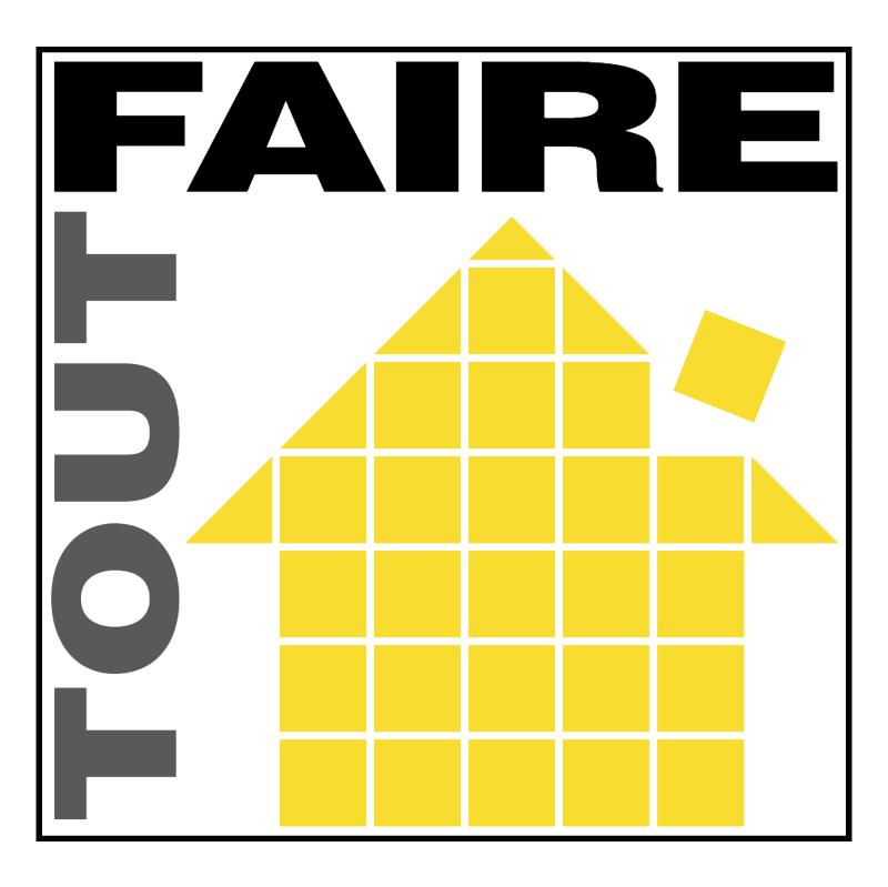 Tout Faire vector logo
