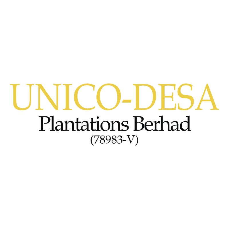 Unico Desa Plantations vector