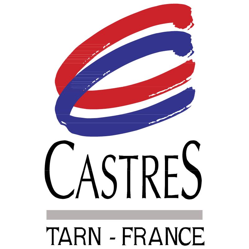 Ville de Castres vector