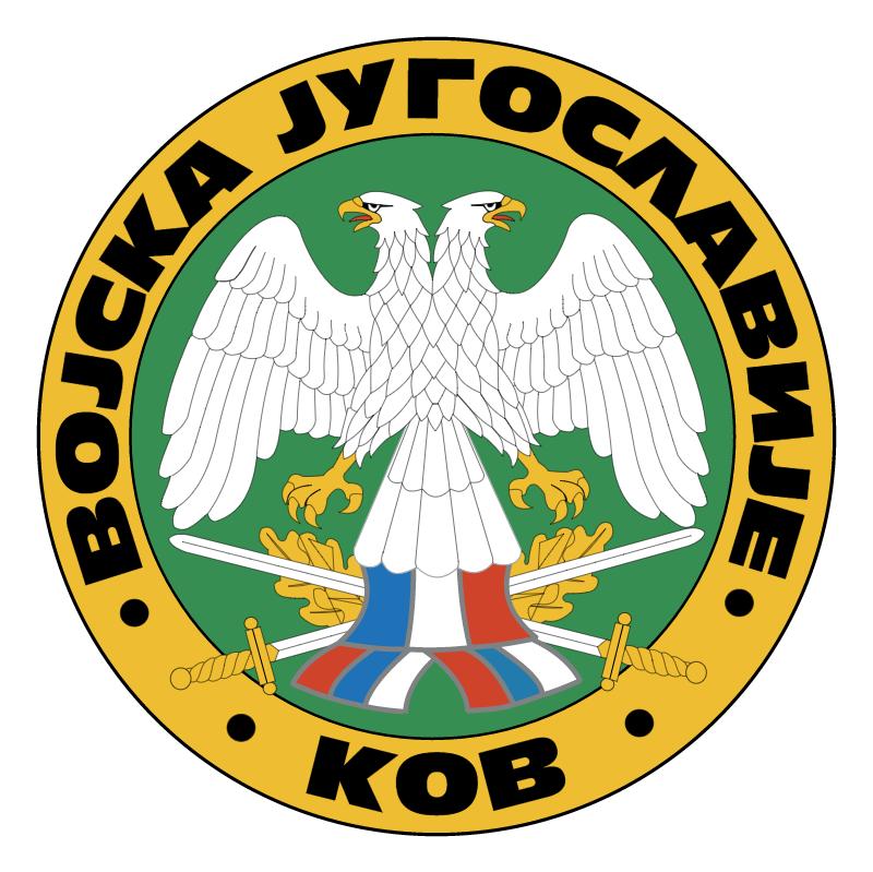 Vojska Jugoslavije vector