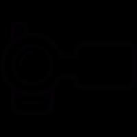 Frontal Video Camera vector