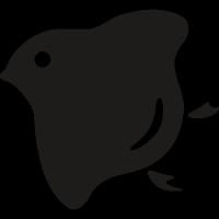 Japanese bird vector