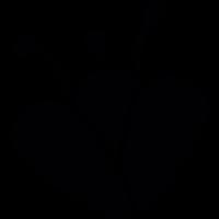 Flower stamens vector
