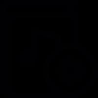 Audiobook settings vector