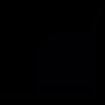 Open Mailing Box vector logo