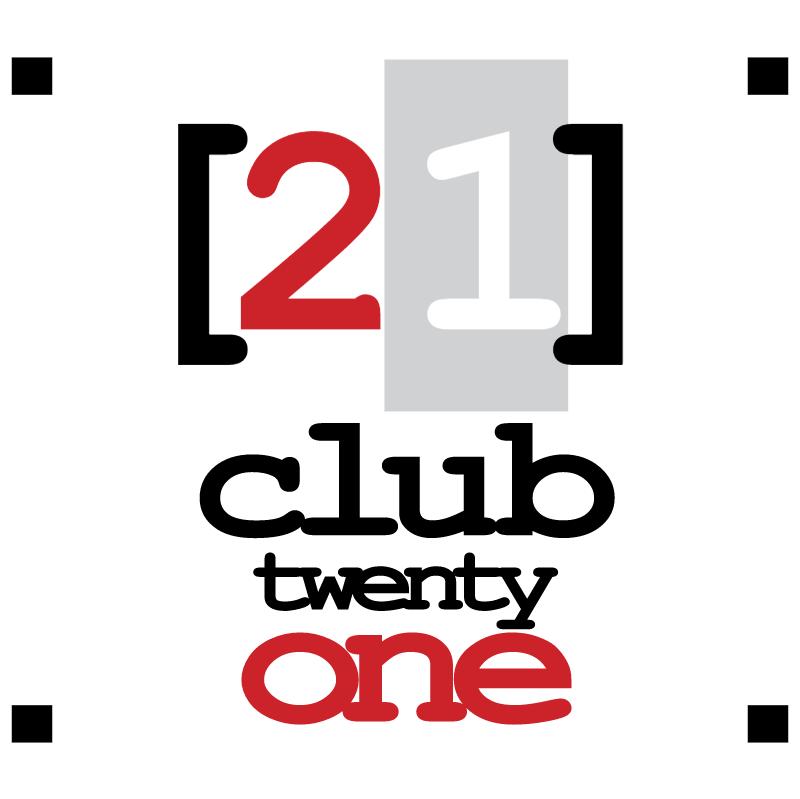 21 Club vector