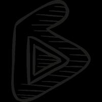 Ku6 Draw Logo vector