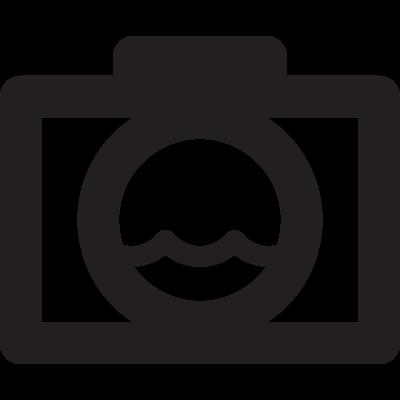 Water Camera vector logo