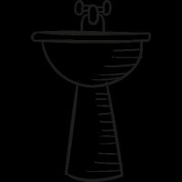 Bathroom Sink vector