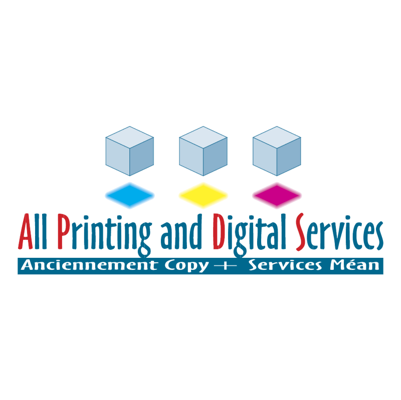 All Printing and Digital Services vector