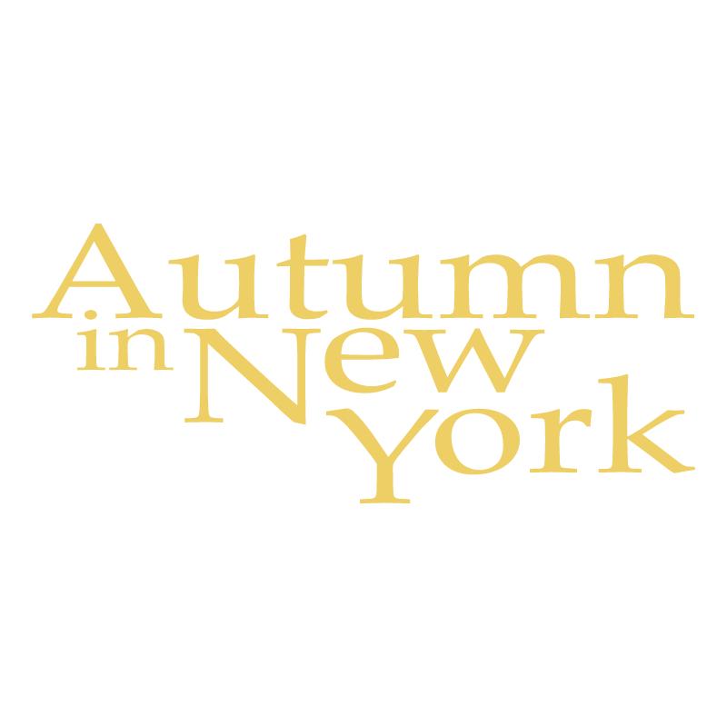 Authumn in New York vector