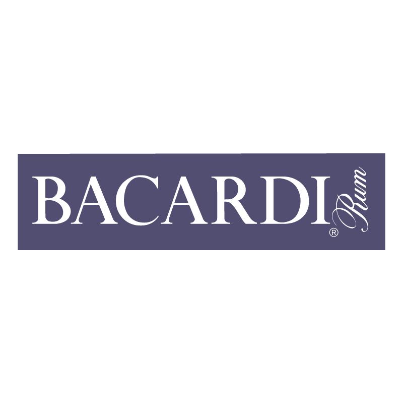 Bacardi Rum vector
